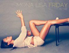 Nina K Mona Lisa Art