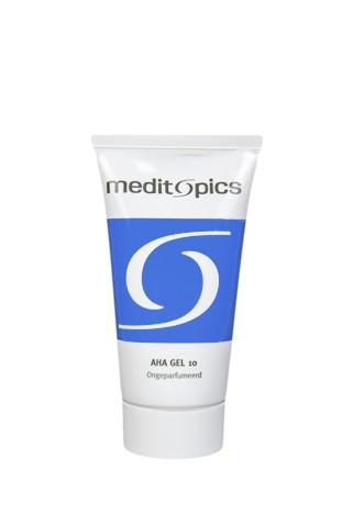 Meditopics AHA Peeling op Basis van Glycolzuur Gel 10% 50ml